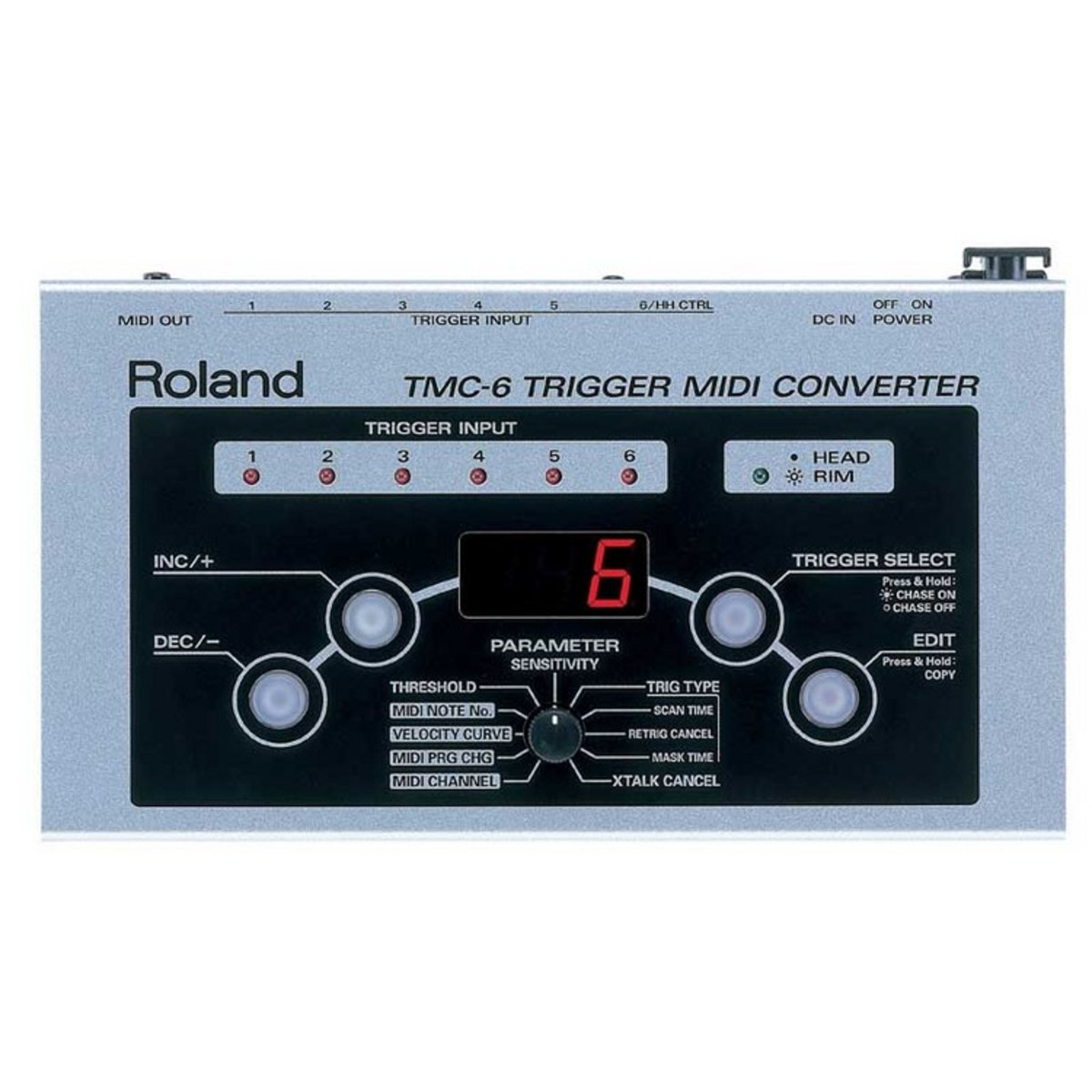 disc roland tmc 6 drum trigger module at. Black Bedroom Furniture Sets. Home Design Ideas