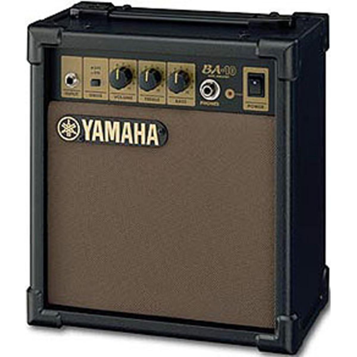 Discontinued yamaha ba10 amplifier at for Yamaha bass guitar amplifier
