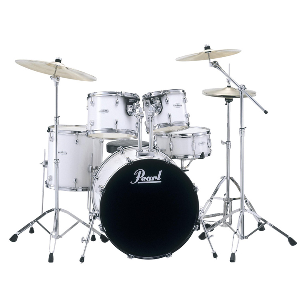 DISCONTINUED Pearl F705 Forum Fusion Drum Kit, Pure White ...