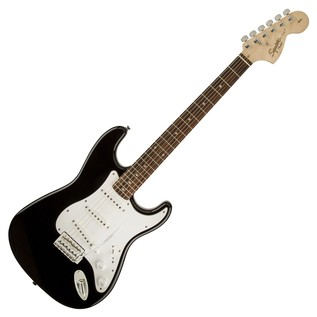 Squier by Fender Affinity Stratocaster, Black