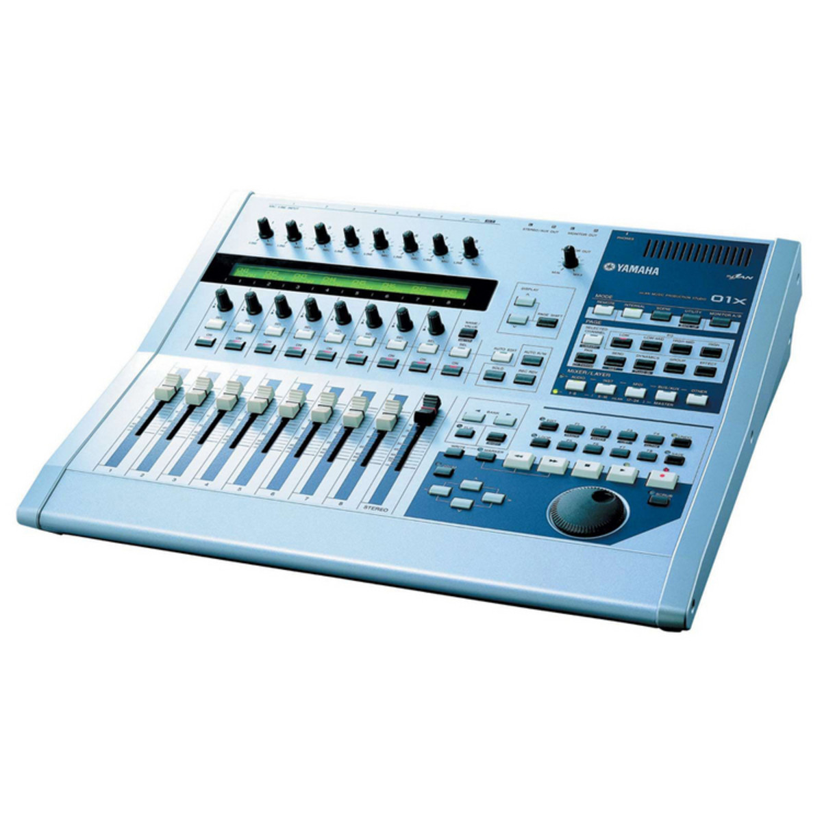 yamaha 01x mlan music production interface remote and. Black Bedroom Furniture Sets. Home Design Ideas