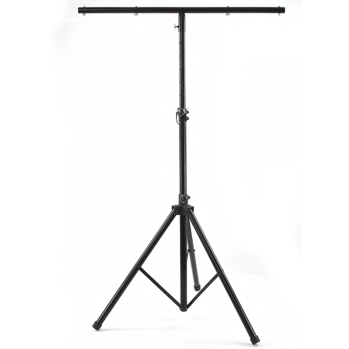 Hauteur r glable 3 6 m stand d 39 clairage avec barre en t for Eclairage stand