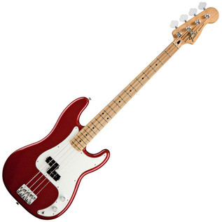 Fender Standard Precision Bass, Maple, Candy Apple Red