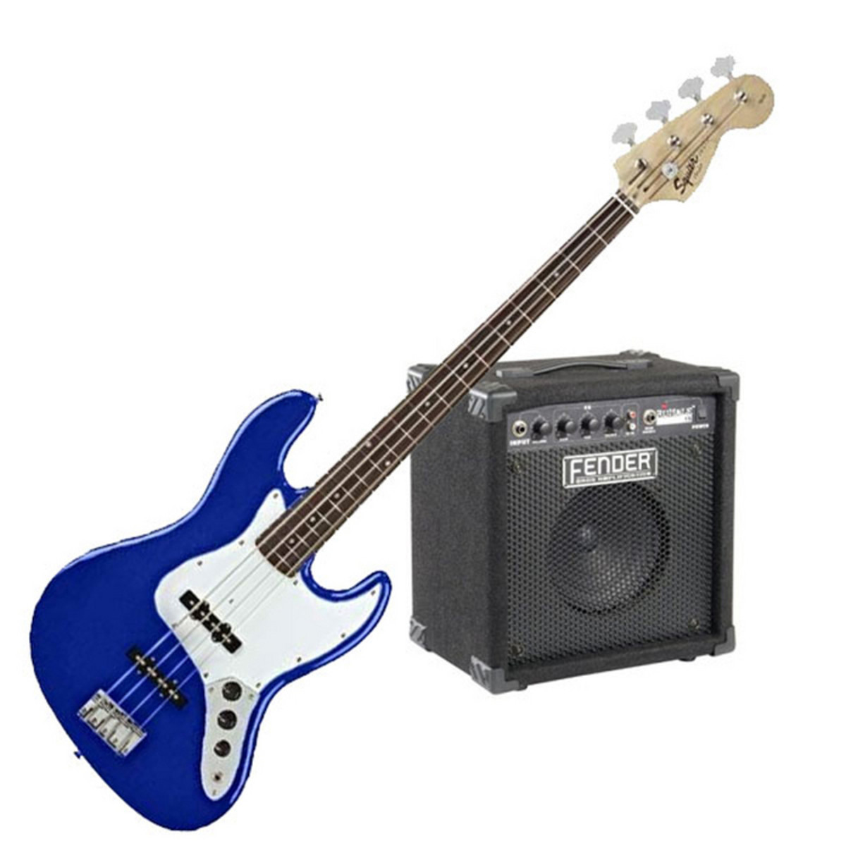 squier by fender affinity j bass rumble 15 amp metallic blue at. Black Bedroom Furniture Sets. Home Design Ideas