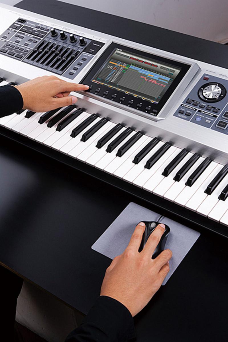 Workstation Keyboard Models : discontinued roland fantom g7 workstation at ~ Vivirlamusica.com Haus und Dekorationen