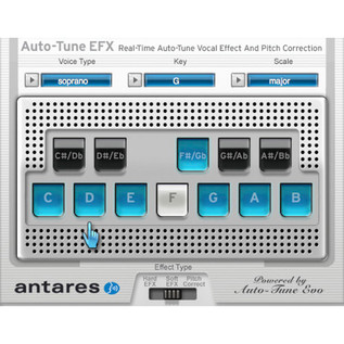 Antares Auto-Tune EFX 2 Pitch Correction Software