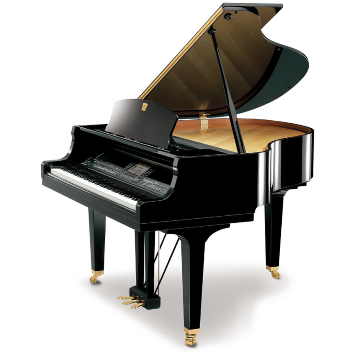 disc yamaha clavinova cgp1000 digital grand piano ebony at. Black Bedroom Furniture Sets. Home Design Ideas