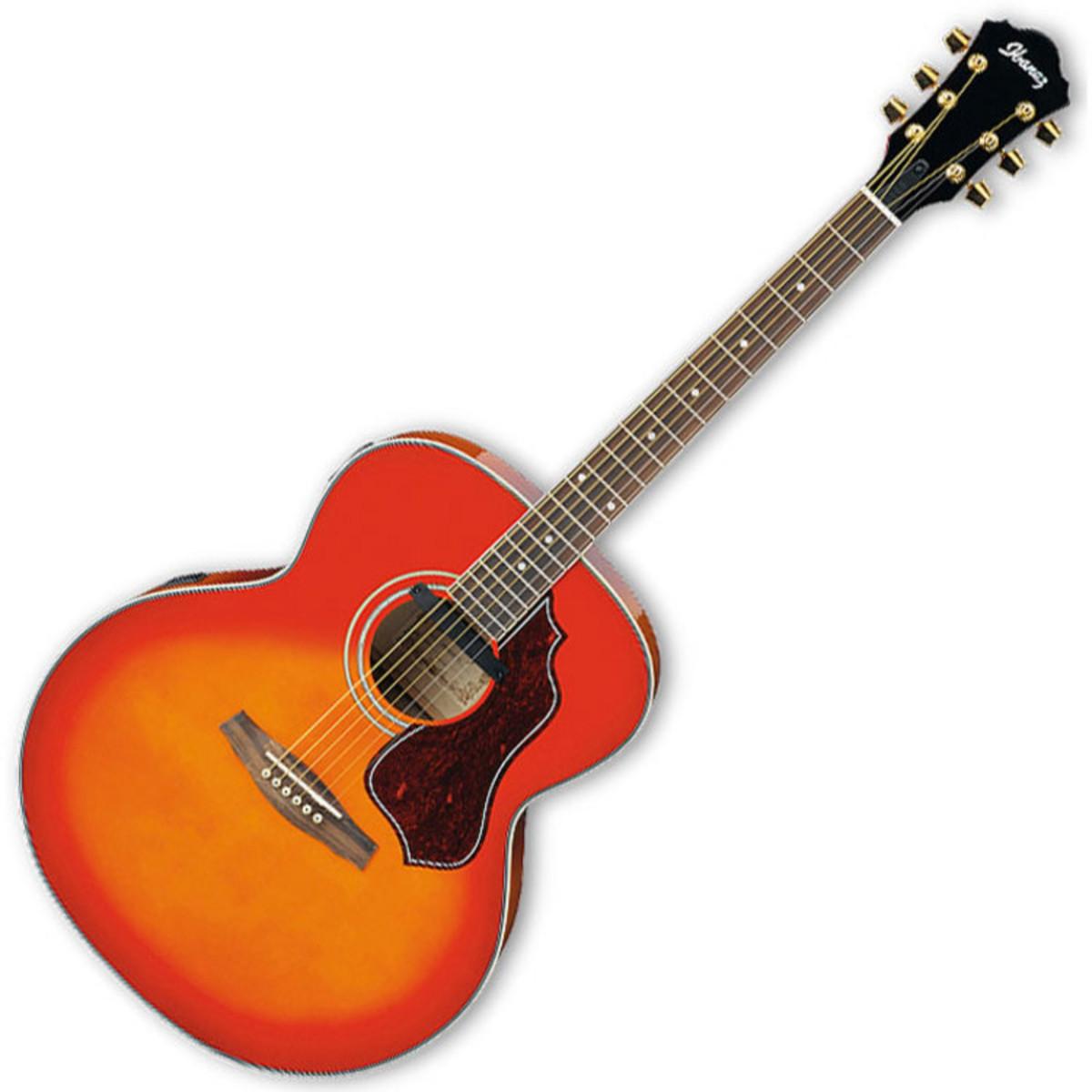 guitare lectro acoustique de disque ibanez sge430 cherry. Black Bedroom Furniture Sets. Home Design Ideas