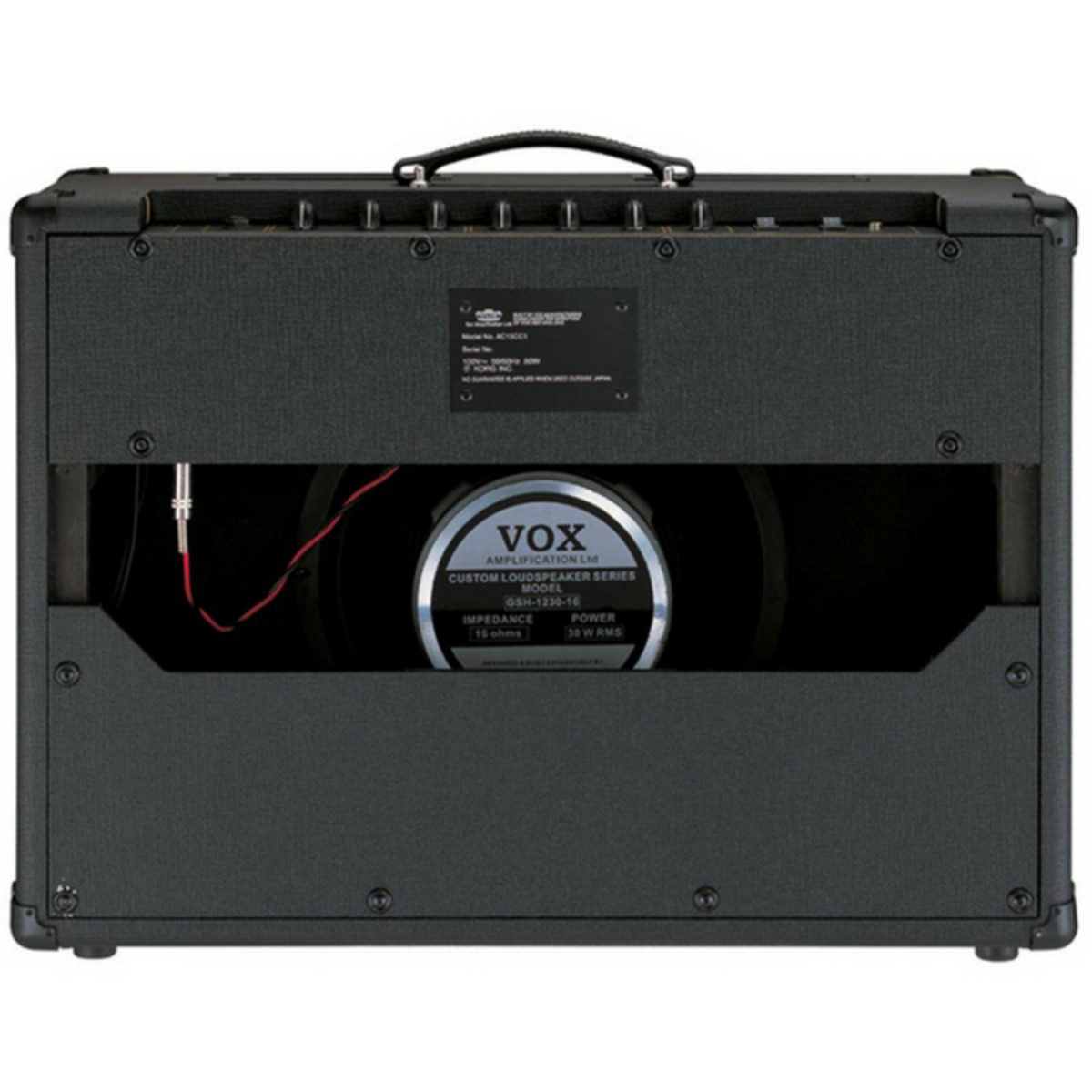 vox ac15 cc1 1x12 custom classic amp pedal at. Black Bedroom Furniture Sets. Home Design Ideas