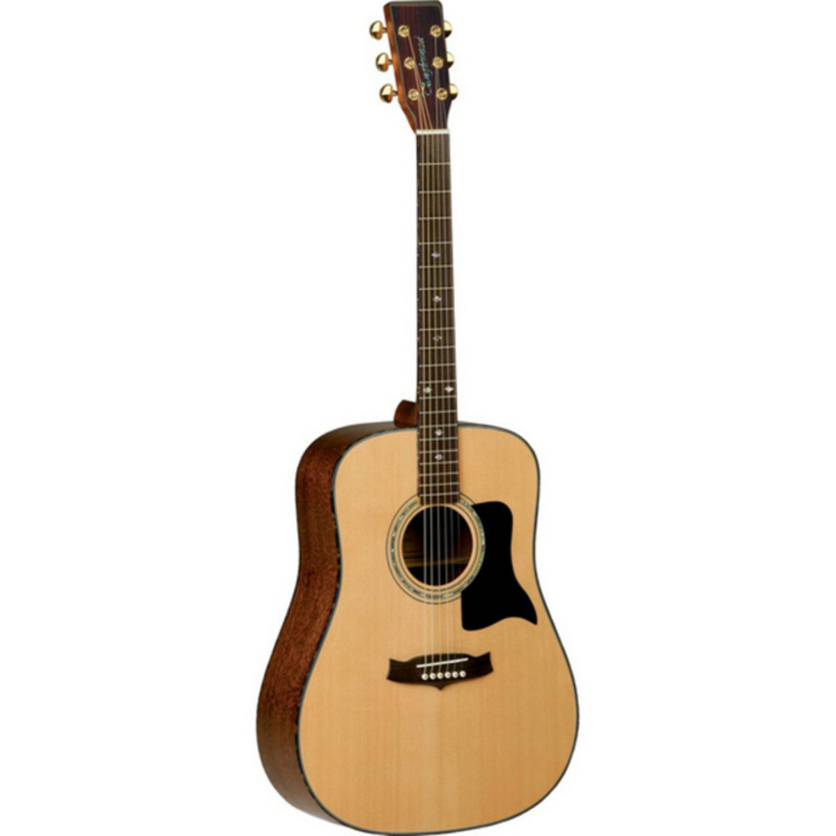 Tanglewood TW15 DLX O Guitar + Perfect Ten Pack At