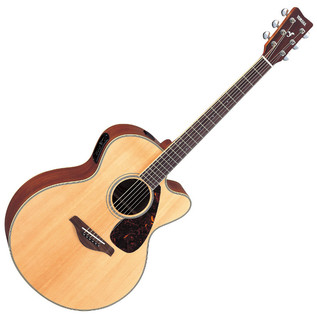 Yamaha FJX720SC Electro Acoustic Guitar, Natural