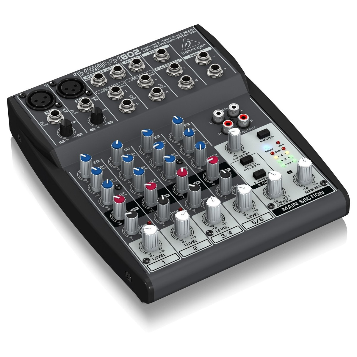 Behringer Xenyx 802 Mixer At Gear4music