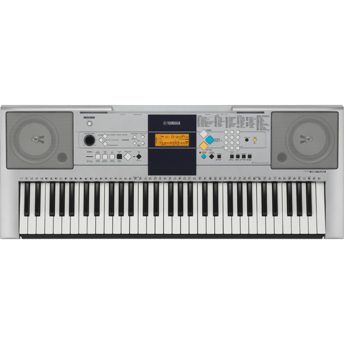 Disc yamaha psr e323 portable keyboard at for Yamaha learning keyboard