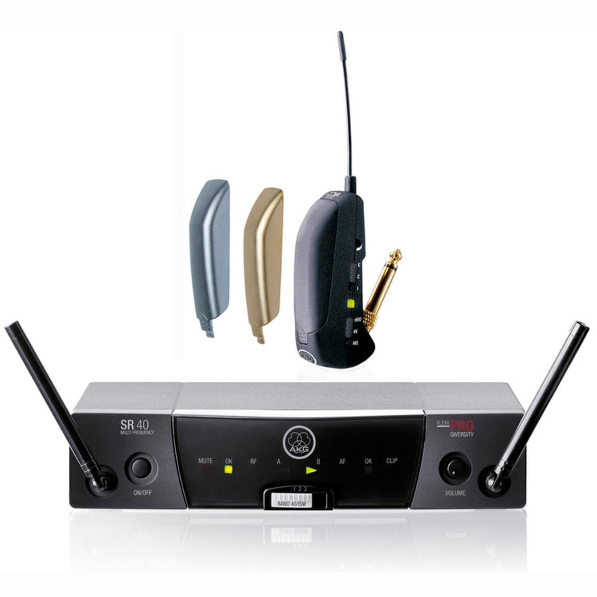 disc akg wms40 pro guitar flexx wireless system at. Black Bedroom Furniture Sets. Home Design Ideas