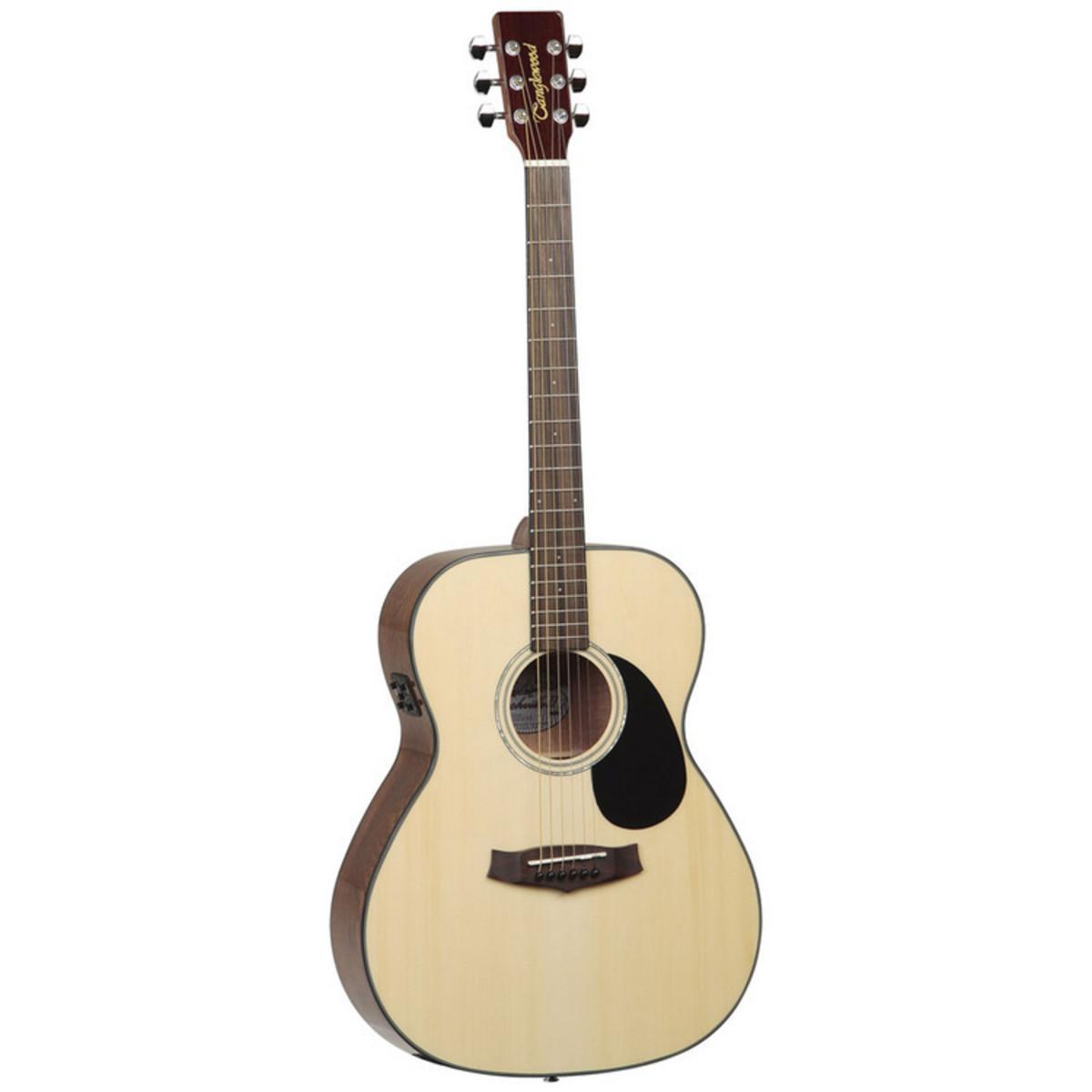 Tanglewood TF8 E-II Nashville Folk Guitar + Perfect Ten