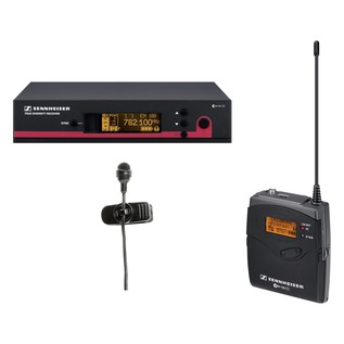 Sennheiser EW 122 G3 Wireless Lavalier Microphone System, Channel 70