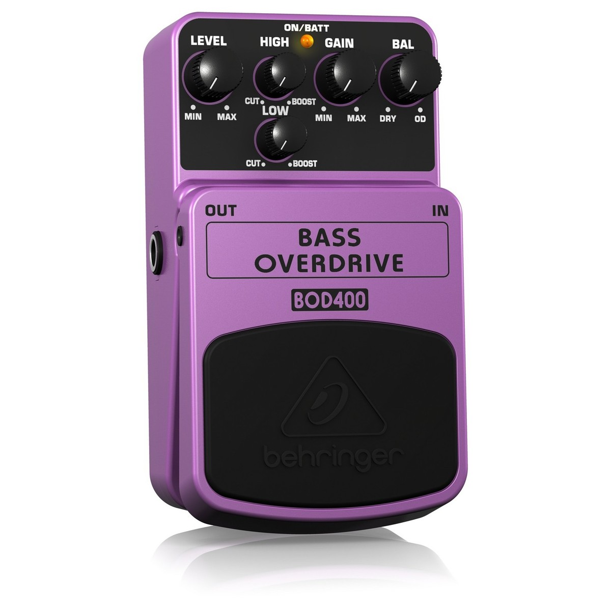 behringer bod400 bass overdrive pedal at. Black Bedroom Furniture Sets. Home Design Ideas