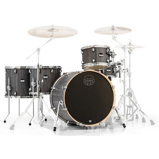 Mapex Mars 22'' Crossover Retro Fusion 5 Piece Shell Pack, Smokewood