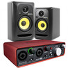 Focusrite Scarlett 2i2 and KRK RP5 Studio Pack