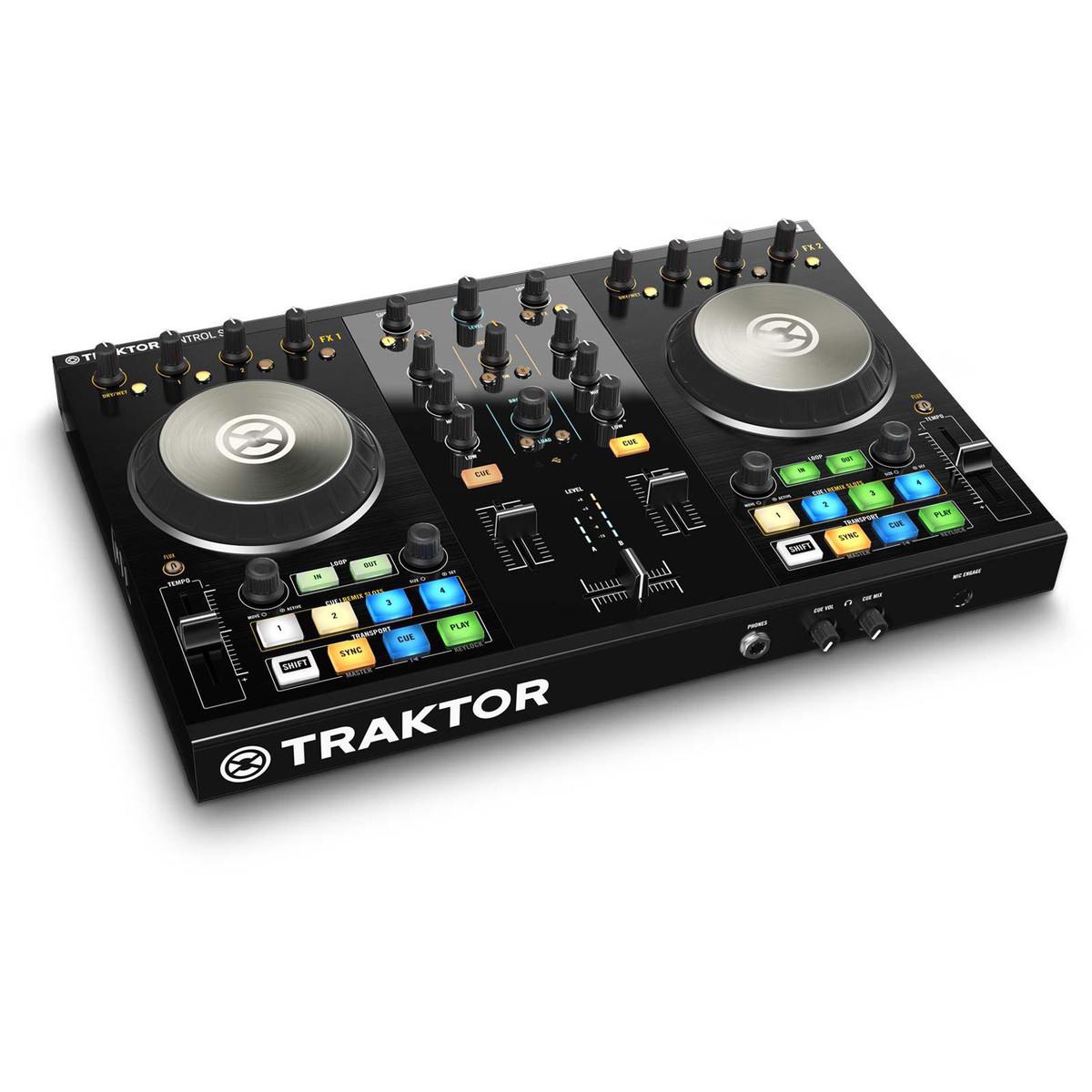 Image of Native Instruments Traktor Kontrol S2 MK2 DJ Controller