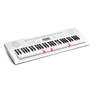 Casio LK-247 61 Key Lighting Keyboard, White, Gear4music Exclusive!