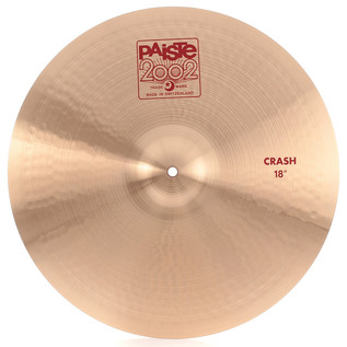 Paiste 2002 18'' Crash Cymbal