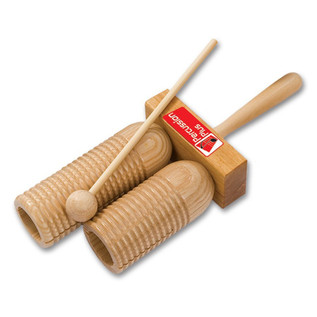 Percussion Plus Agogo Wooden Double