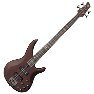 Yamaha TRBX504 Bass Guitar, Translucent Brown