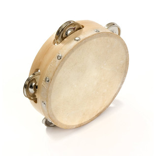 Percussion Plus Tambourine Budget 15cm (6'')