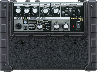 Roland Micro Cube RX Guitar Amp panel