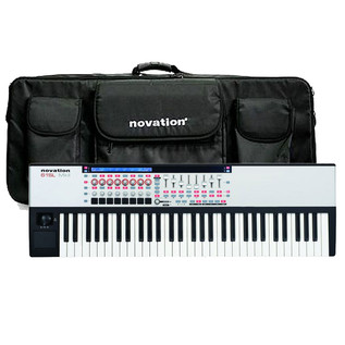 Novation 61 SL Mk2 MIDI Controller Keyboard with FREE Bag