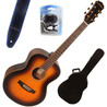 Freshman Songwriter Traveller Guitarra + Accesorios, Tobacco Sunburst