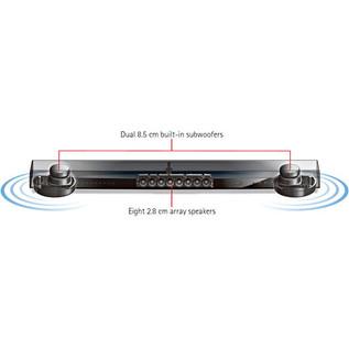 Yamaha YSP1400 Sound Projector, Black