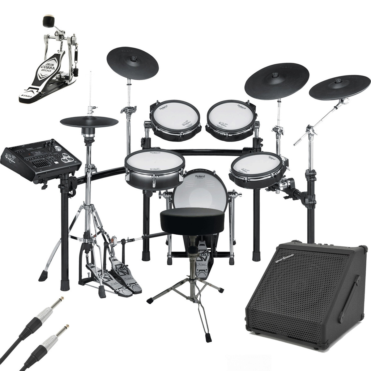 roland td 30k v pro electronic drum kit with amp and accessories at. Black Bedroom Furniture Sets. Home Design Ideas