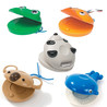 Percussion Plus PP1130 Animal Castanets, 5 Pack