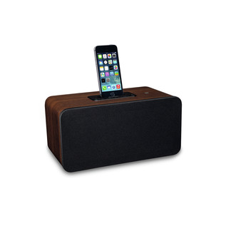 Pioneer XW-BTS7 Bluetooth Speaker, Dark Walnut
