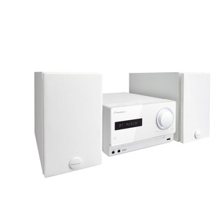 Pioneer X-CM32BTD Micro System with Bluetooth and DAB Radio, White
