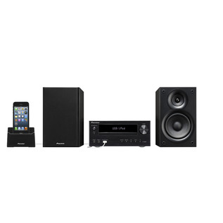 Pioneer X-HM21BTD CD/iPod System with Bluetooth and DAB Radio, Black