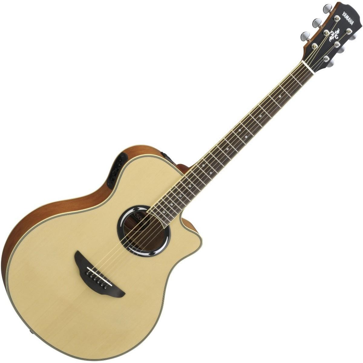 yamaha apx500 iii electro acoustic guitar natural at