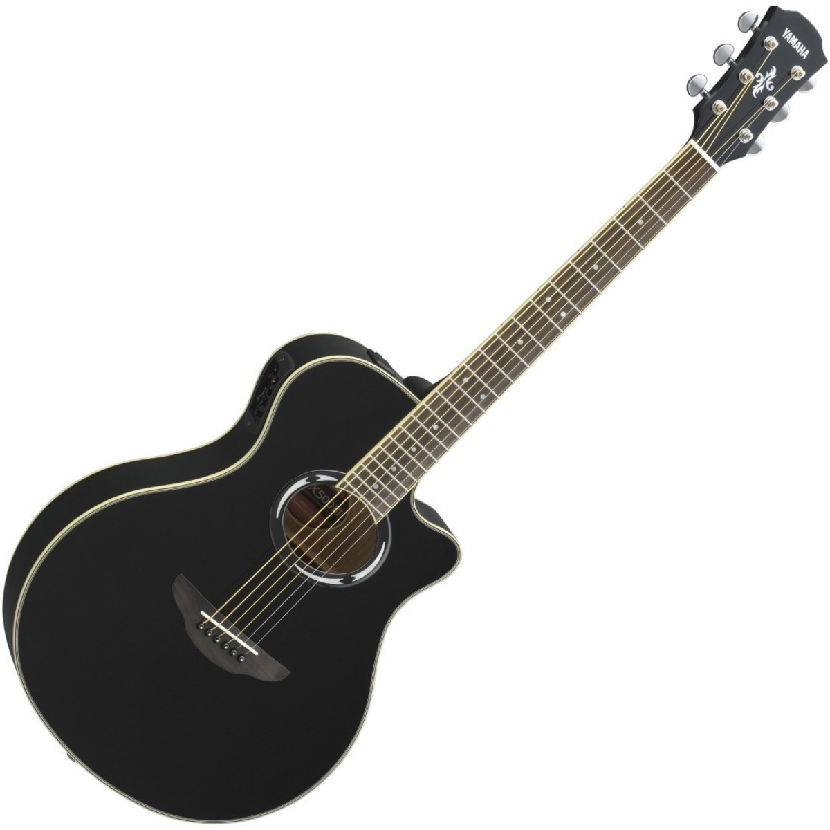 yamaha apx500 iii electro acoustic guitar black at