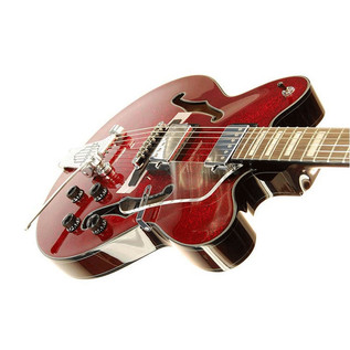 Ibanez AFD75T Artcore Electric Guitar, Red Sparkle