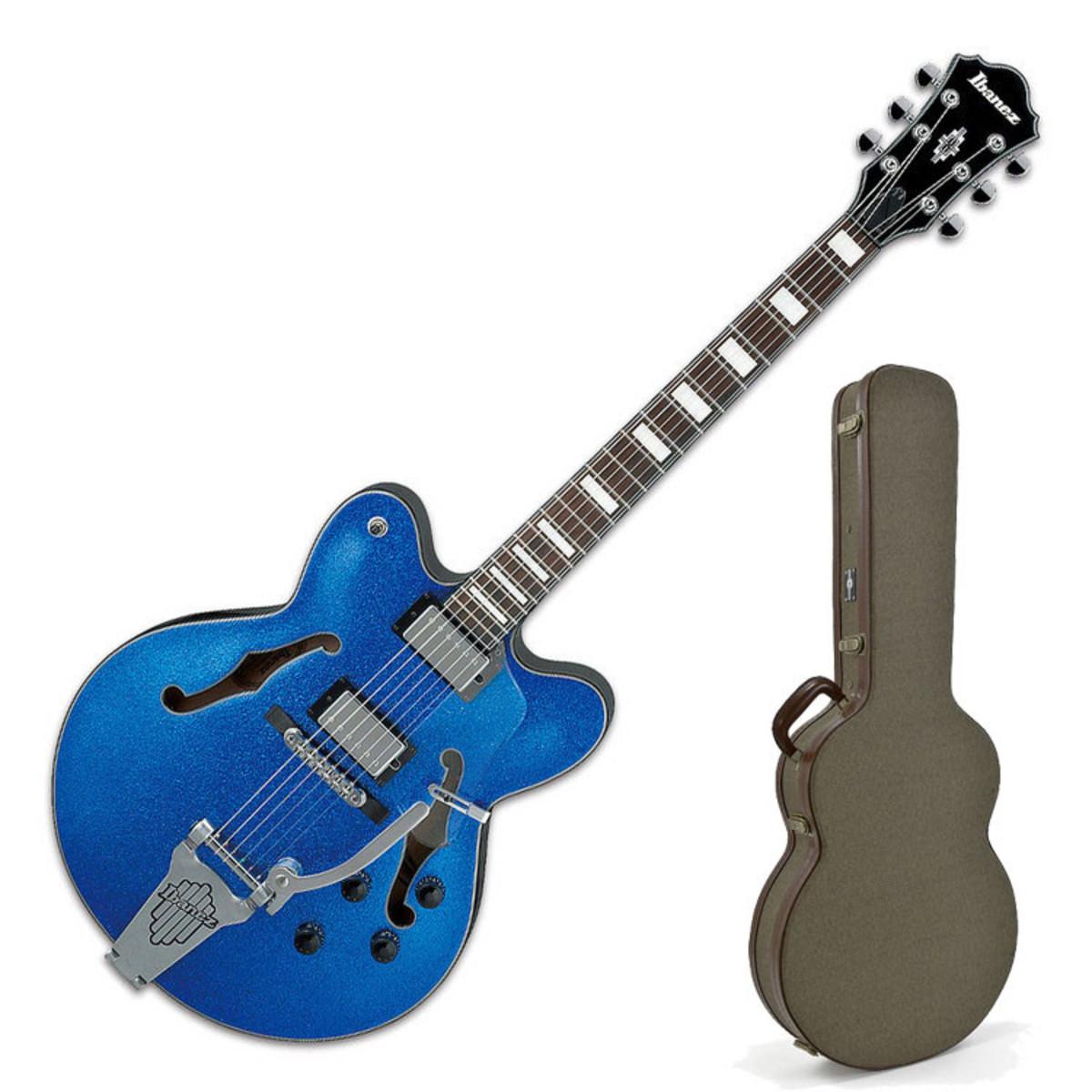 ibanez afd75t artcore guitare lectrique blue sparkle. Black Bedroom Furniture Sets. Home Design Ideas