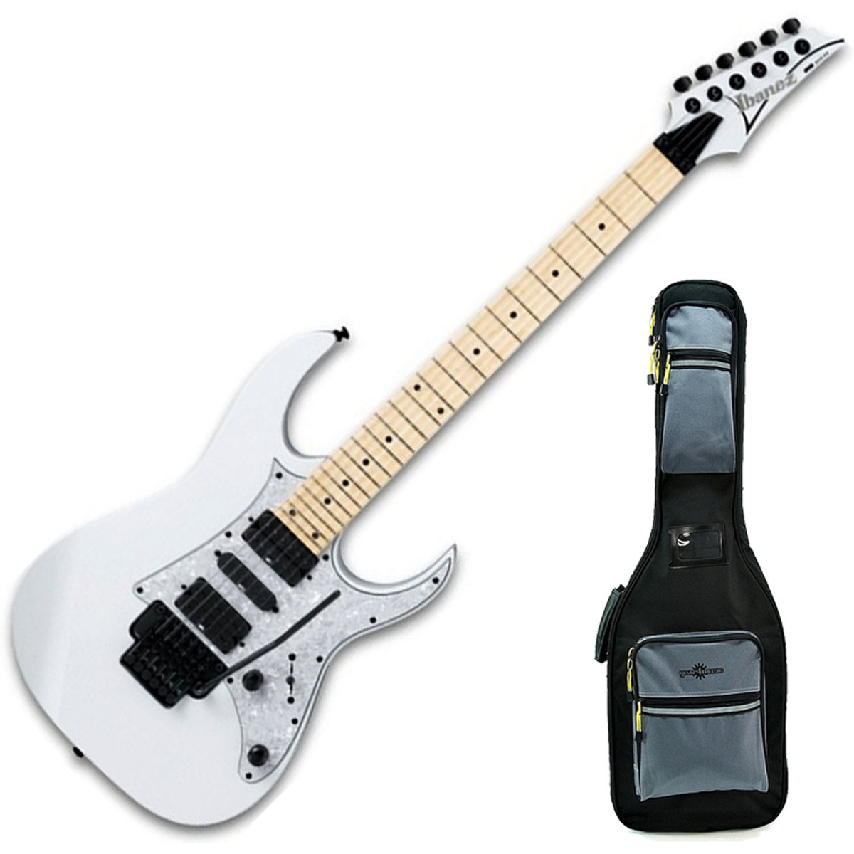 Puis ibanez rg350mpz guitare lectrique housse deluxe for Housse guitare electrique