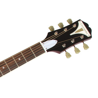 Epiphone Pro-1 Acoustic Guitar for Beginners, Wine Red