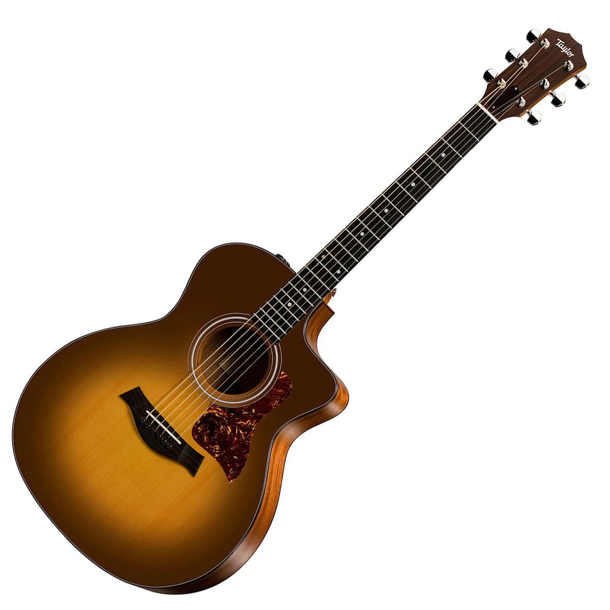 disc taylor 114ce grand auditorium electro acoustic guitar sun at. Black Bedroom Furniture Sets. Home Design Ideas