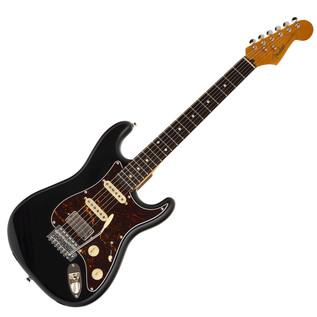 Fender Modern Player Short Scale Stratocaster, RW, Black