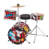 De Beano 3-delige Junior Drum Set