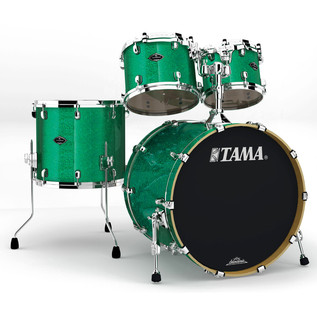Tama Starclassic Performer B/B 4 Pc Shell Pack, Vintage Green Sparkle