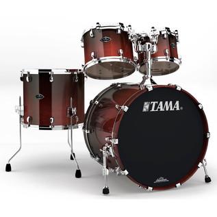 Tama Starclassic Performer B/B 4 Piece Shell Pack, Dark Cherry Fade