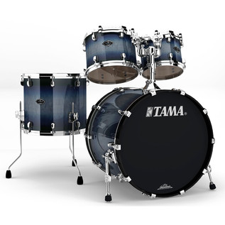 Tama Starclassic Performer B/B 4 Pc Shell Pack, Smokey Indigo Burst